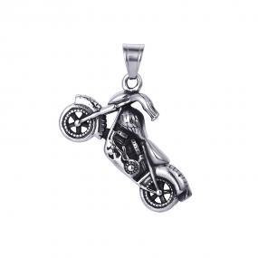 Bo'Bell Macho Men's Bike Jewelry Pendant