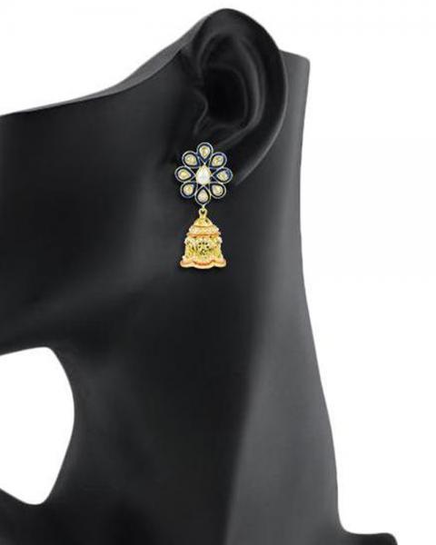 Bo'Bell Graceful Pompon Designer Earring