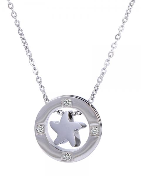 Scarlet Star Necklace