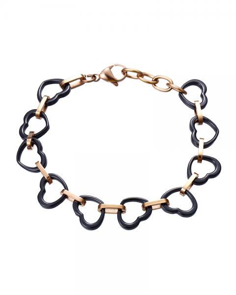 Heart Hug Chain Bracelet