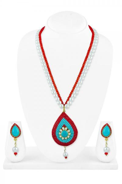 Bo'Bell Flawless Fusion Beautifully Beaded Necklace Set