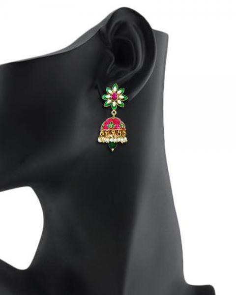 Bo'Bell Bolly Pompon Fashionable Designer Earring