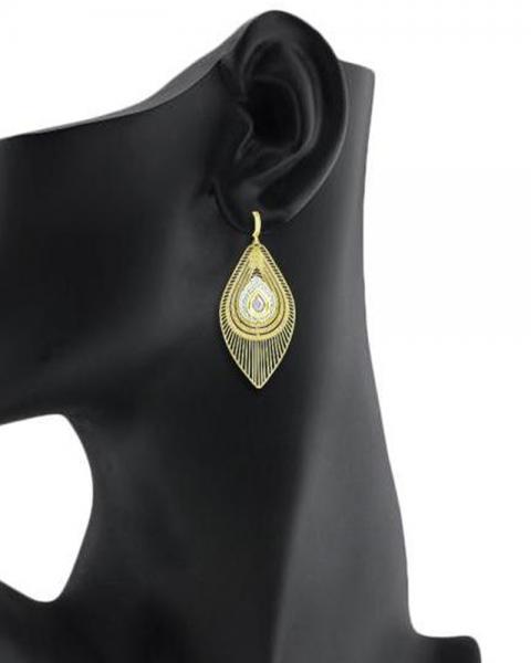Bo'Bell Elegant Petal Classic Designer Danglers