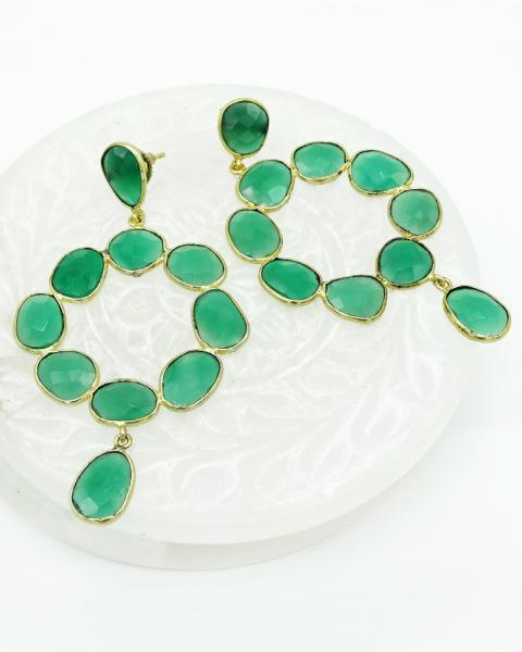 Green Quartz Loops....