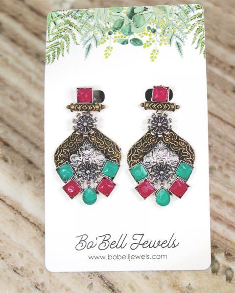Boheme Rose Earrings