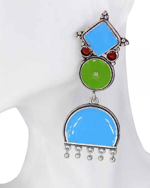 Bluebell Boho Earring