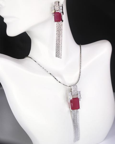 Sterling Silvia Necklace Set
