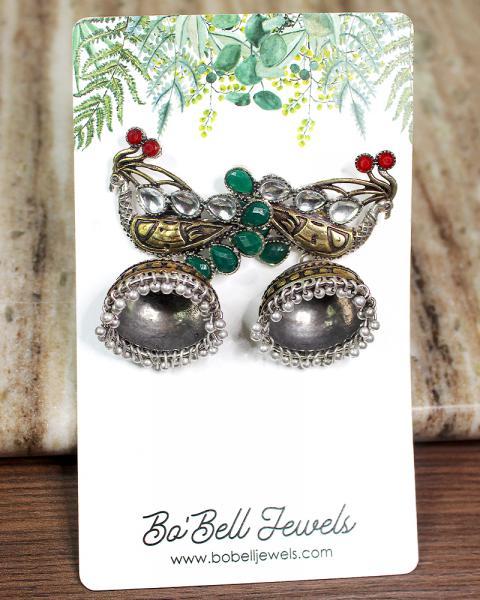Dreamy Peacock Earrings