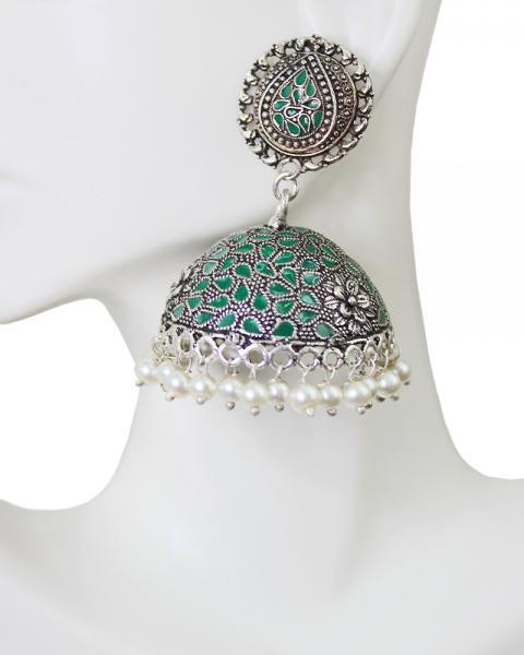 Oliver Minty Earrings
