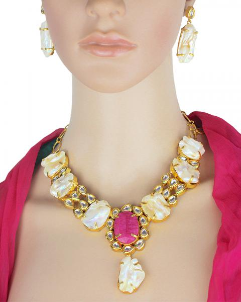 Roselie Autumn Necklace Set