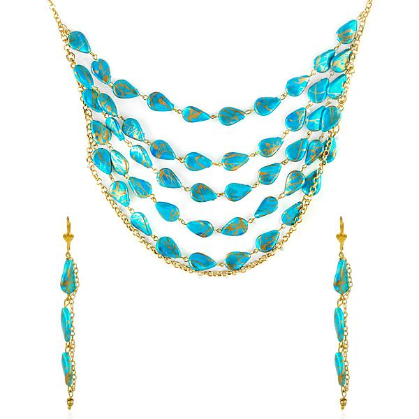 Ethnic layered necklaces
