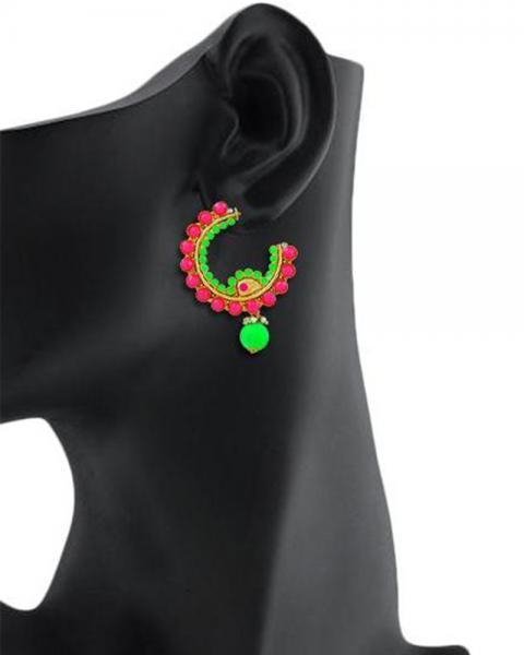 Bo'Bell Exquisite Neon Beautiful Desginer Earirng