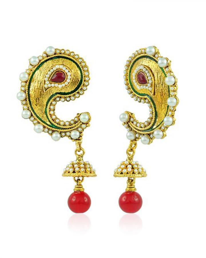 Bo'Bell Keri Glamorous Designer Earring/MULTI