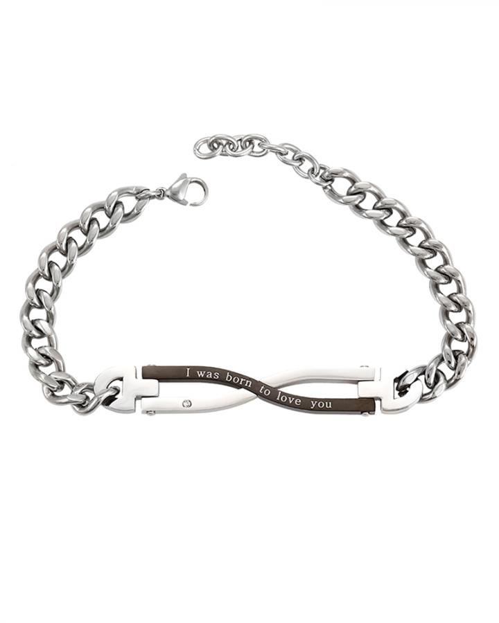 Infinity Twin Toned Bracelet