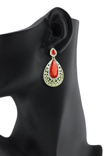 Bo'Bell Traditional Charming Earring/RED