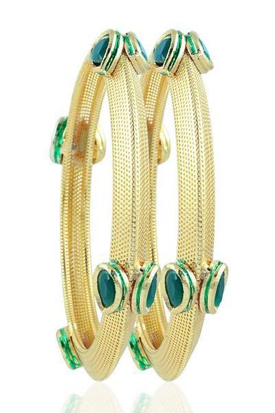 Bo'Bell Beautiful Maharani Traditional Bangle/GOLDEN