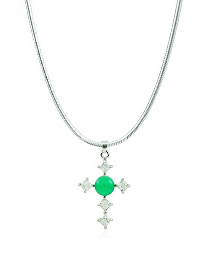 Charismatic Cross Pendant