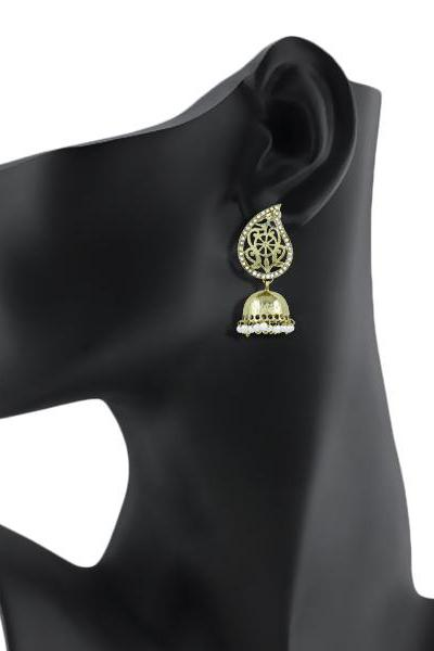 Bo'Bell Indian Golden Kerri Adorable Bolly Earring/GOLDEN