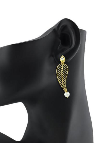 Bo'Bell Classy Indi-Fusion Mor Earring/GOLDEN