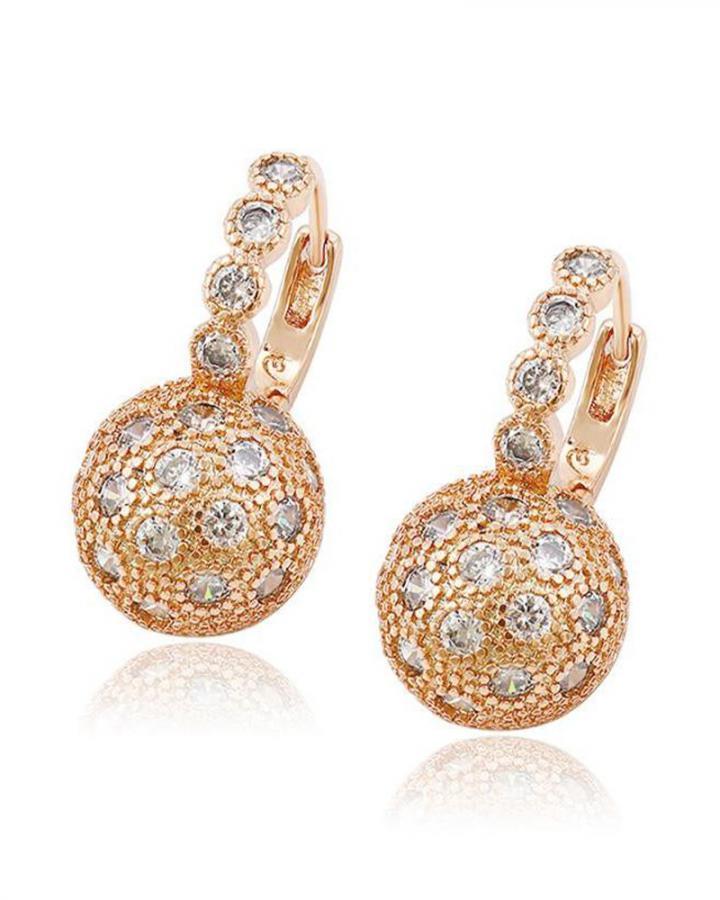 Golden Globe Earrings