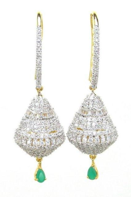 Bo'Bell Ethnic AD Royal Bell Fusion Earring/WHITE