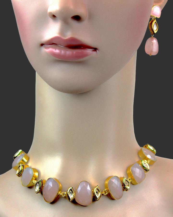 Diana Roselia Necklace Set