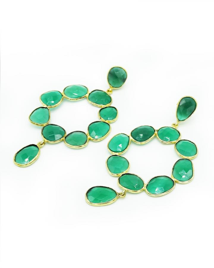 Green Quartz Loops