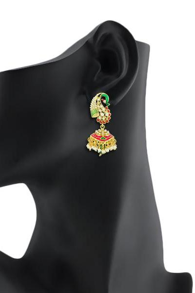 Bo'Bell Ethnic Traditional Unique Designer Earring/MULTI