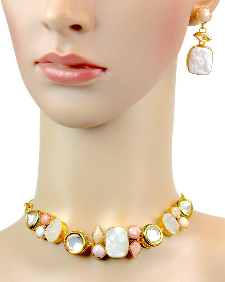 Gabriel Rosella Necklace Set