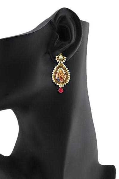 Bo'Bell Glamorous Unique Designer Earring/MULTI