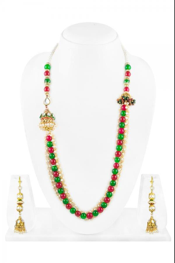 Bo'Bell Unique Artisanal Versatile Fashionable Necklace Set/MULTI