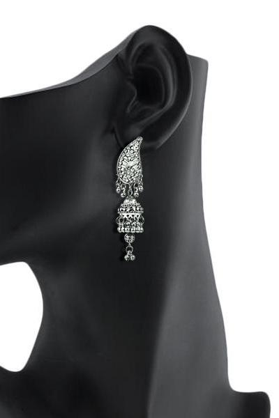 Bo'Bell Stiking Silver Designer Earring/SILVER