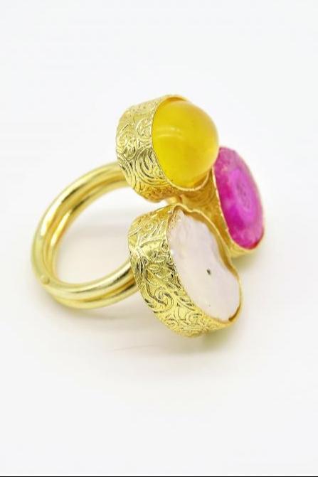 Spunky Lily Ring