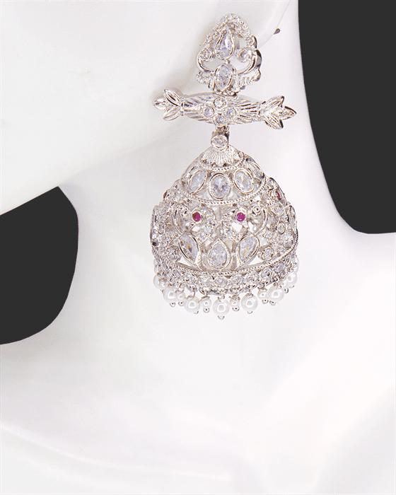 Martina CZ Diamond Danglers