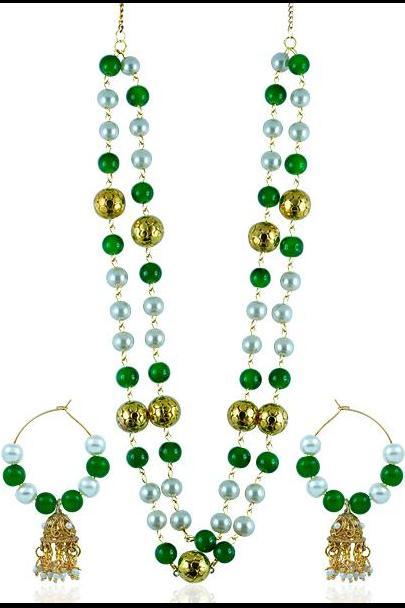 Bo'Bell Fashion Indy-Westo Radiant Necklace Set/MULTI