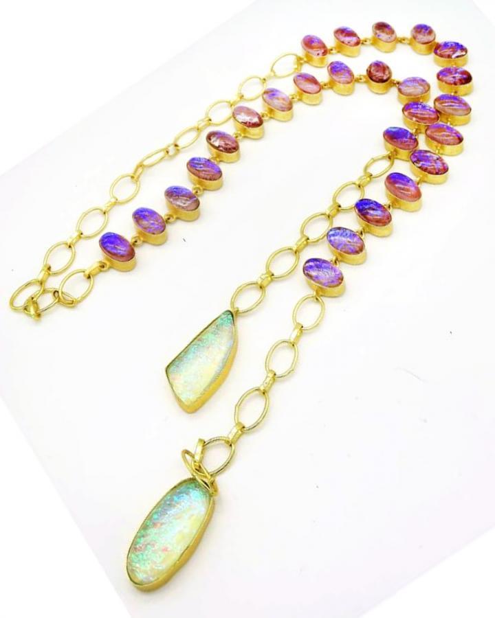 Robyn Scarf Necklace