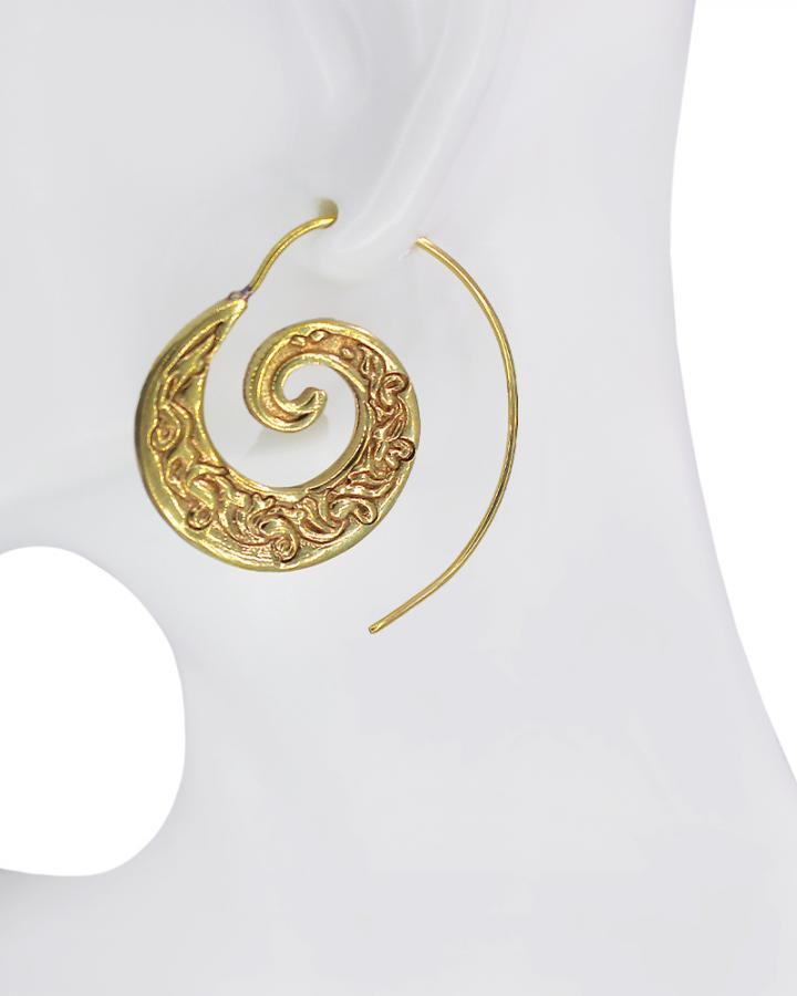 Lyric Curl Hoops