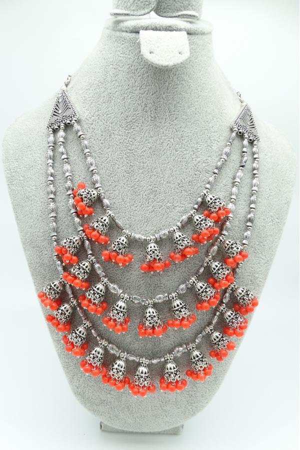Maverick Peach Necklace....