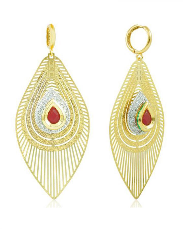 Bo'Bell Attractive Charming Designer Danglers/MAROON