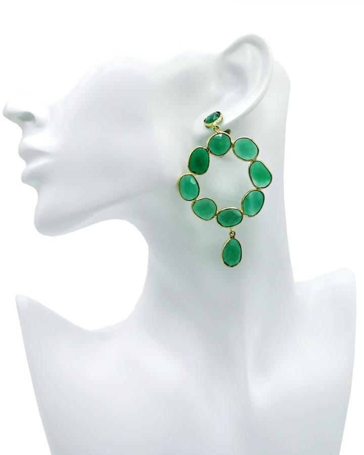 Green Quartz Loops