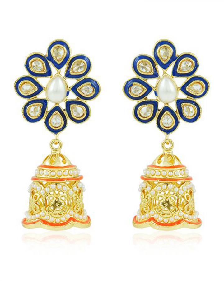 Bo'Bell Graceful Pompon Designer Earring/MULTI