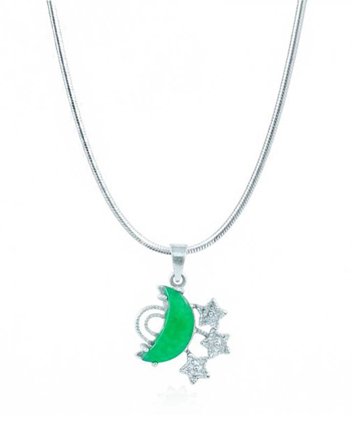 Jade Moon and Stars....