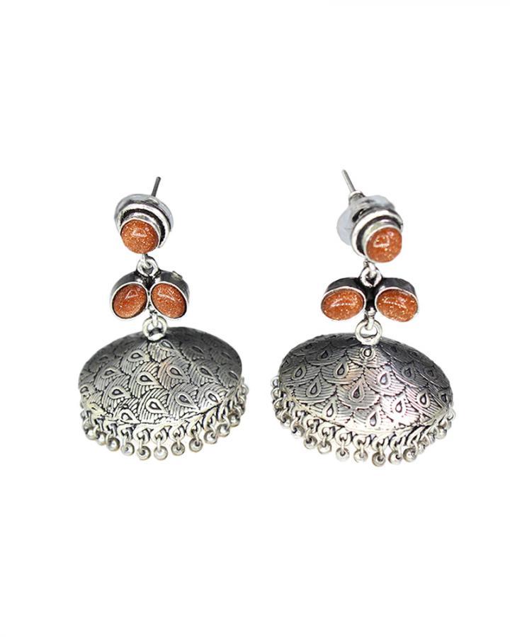 Tiger Stone Eardrops