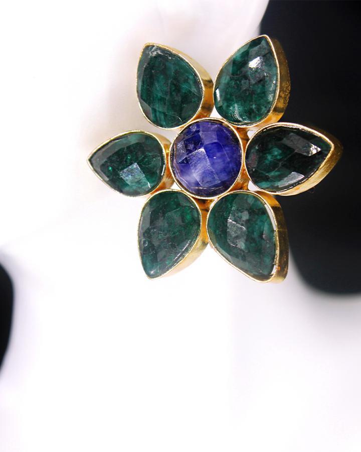 Emerald Petunias