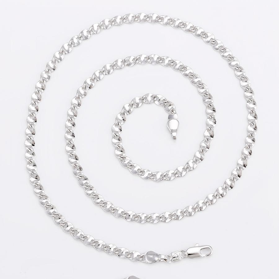 Bo'Bell Super Stylish Men's Chain/SILVER