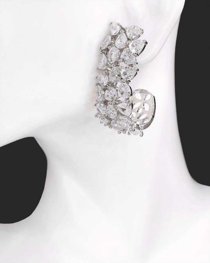 Opulent Peacock Earrings