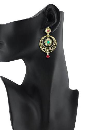 Bo'Bell Flattering Flawless Designer Earring/MULTI