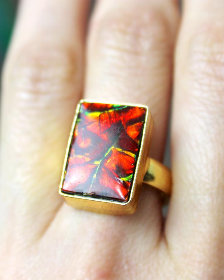 Ember Blaze Ring