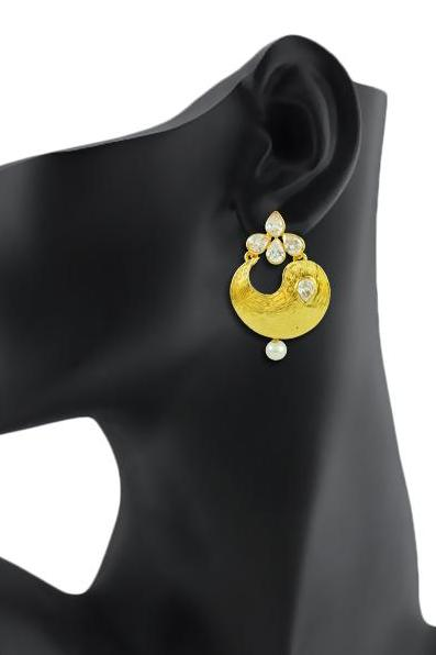 Bo'Bell Charming AD Indi-Pop Earring/GOLDEN