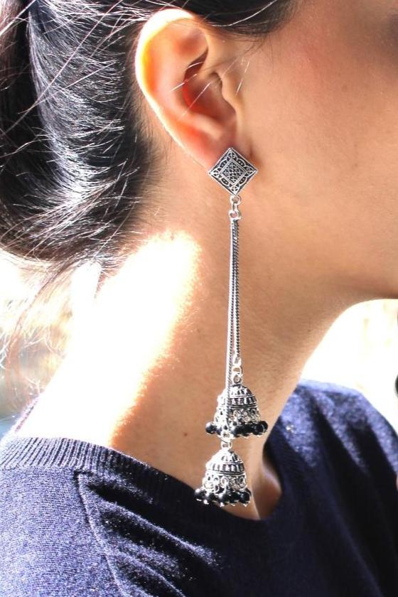Stringy Tribal Eardrop